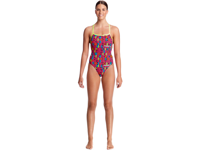 e86ff92f1378d5 Funkita Strapped In One Piece Strój kąpielowy Kobiety kolorowy ...
